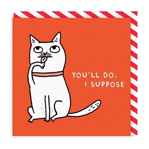 Gemma Correll You'll Do Card (4508072411268)