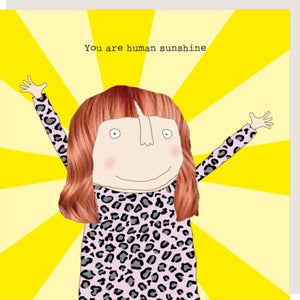 Rosie Made A Thing Human Sunshine Card (5820100935846)