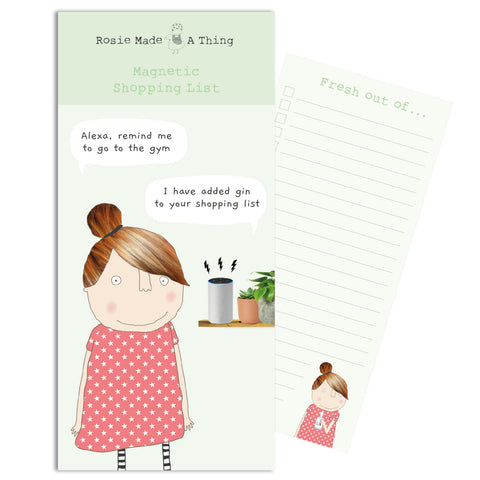 Alexa Gin Magnetic Notepad Notebook (6539628282022)