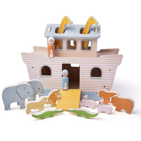 Bigjigs Toys Noah's Ark Playset (5963282120870)