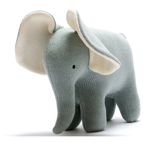 Best Years Large Organic Elephant - teal (5786668728486)