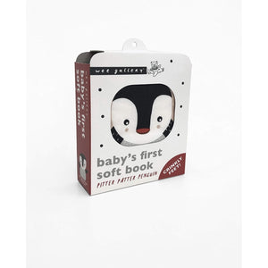 Wee Gallery Baby's First Soft Book - Penguin (5956522639526)