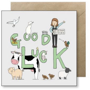 Lucy Driver Good Luck Card (6083441983654)