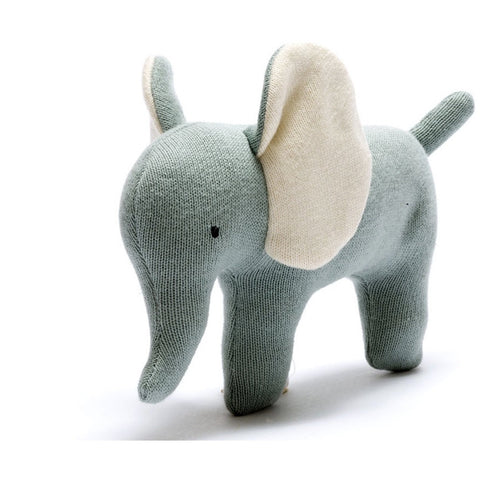 Best Years Small Organic Elephant - teal (5786669711526)