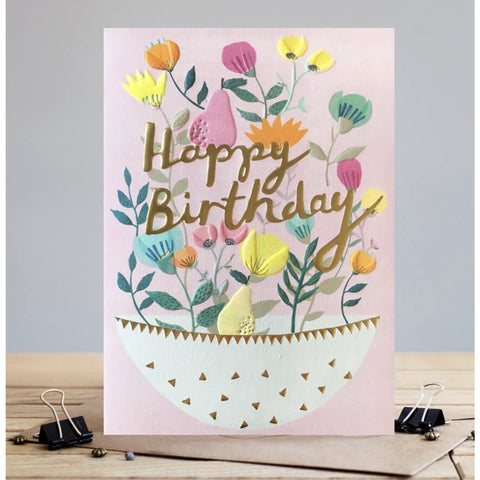 Louise Tiler Birthday Fruit Bowl Birthday Card (5820327755942)