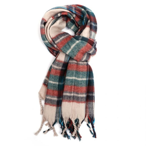 Miss Sparrow Elspeth Winter Scarf (cream) (6124930203814)