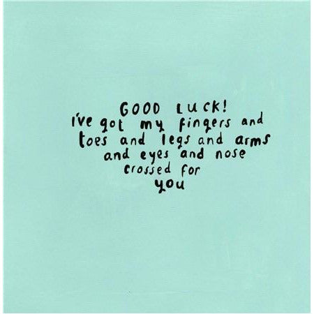 Sooshichacha Good Luck Card (5458911297702)