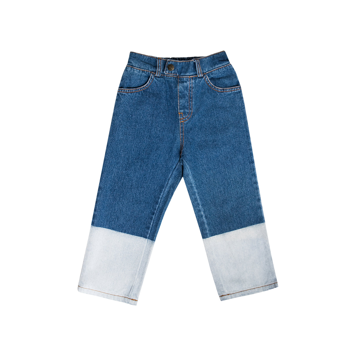 Wash blocked jeans - Mondän