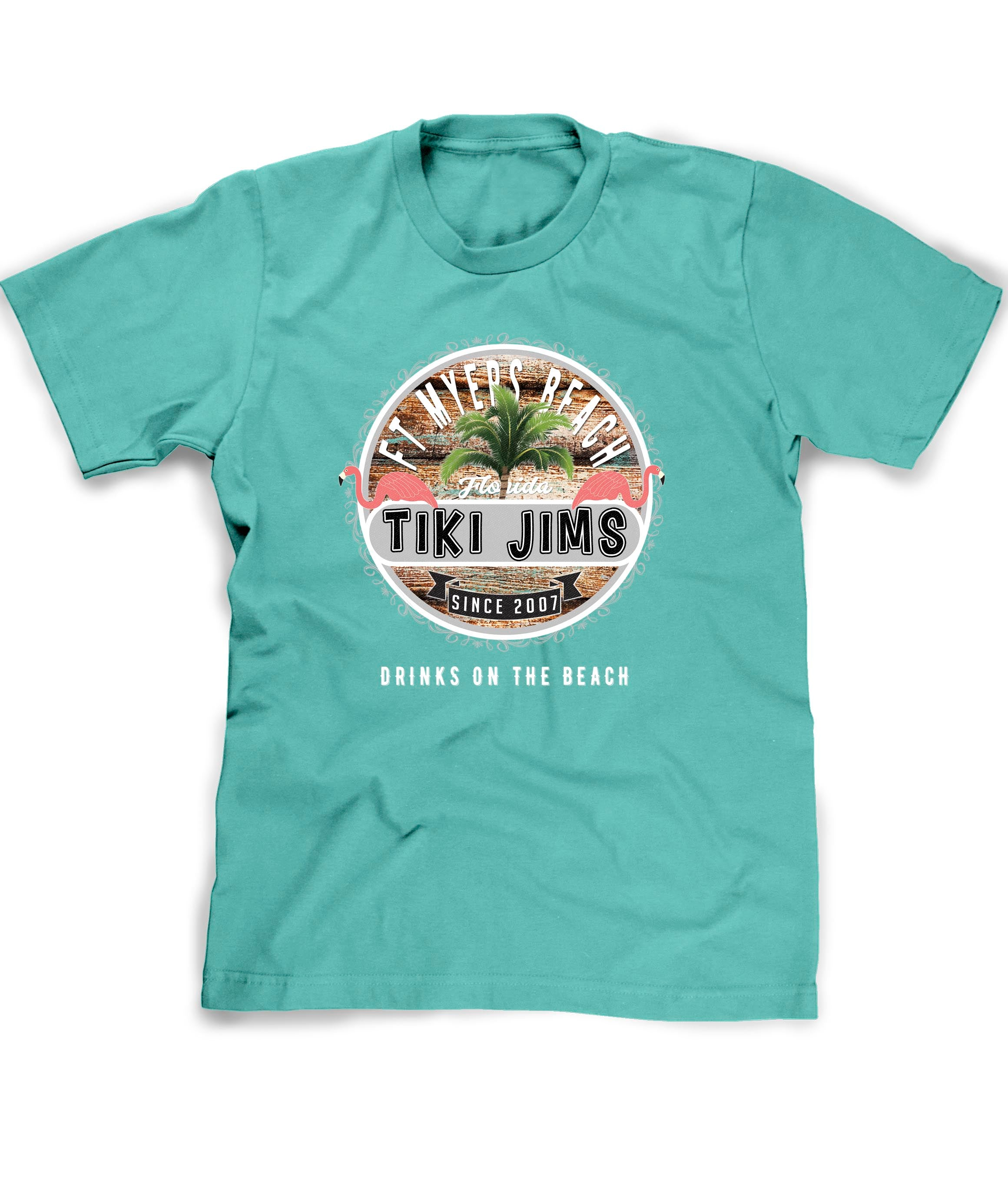 Customized Florida Beach bar t-shirt