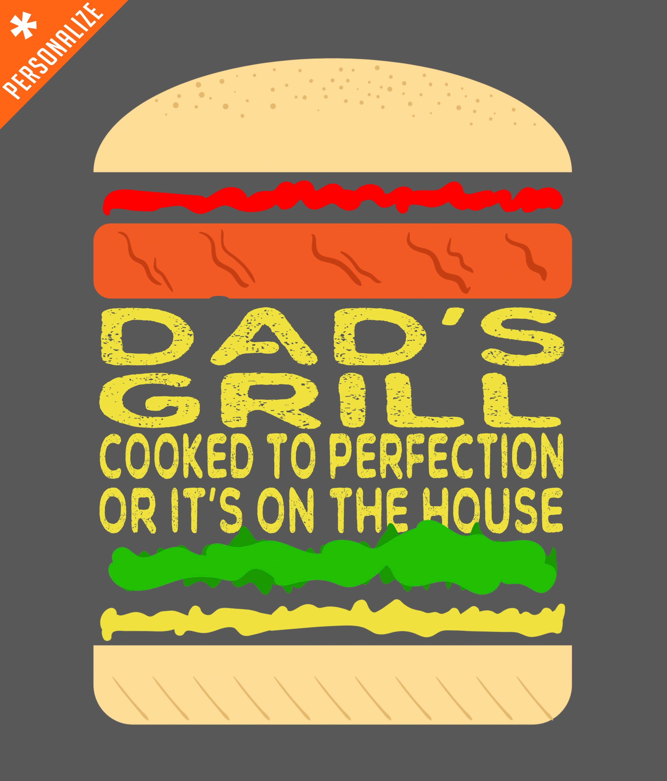dads grill t-shirt design