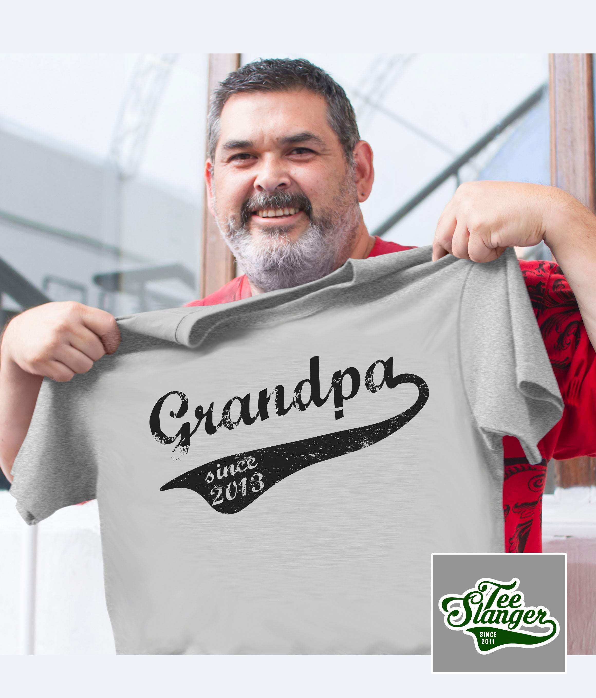 PERSONALIZED GRANDPA SINCE T-SHIRT