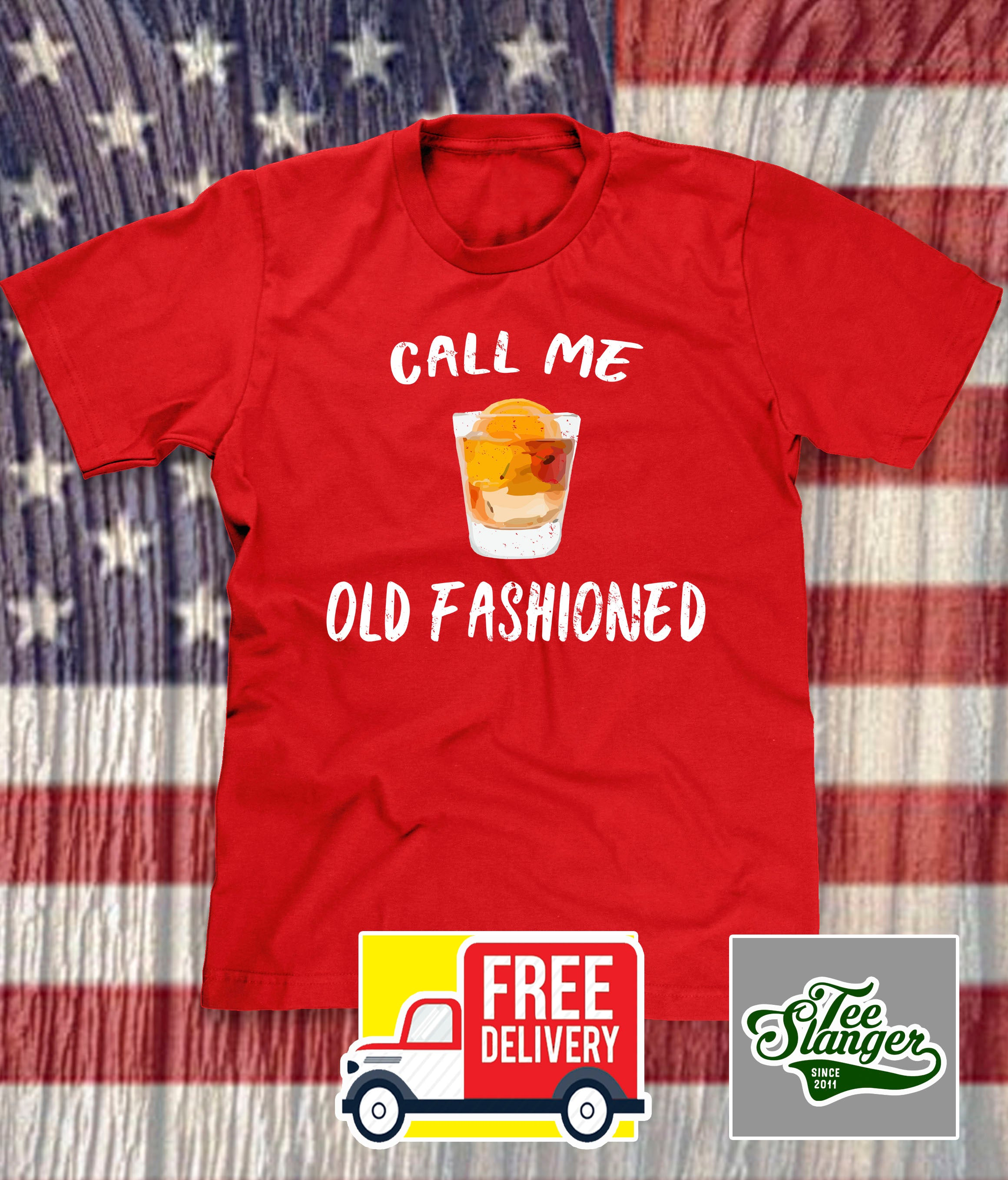 WISCONSIN CALL ME OLD FASHIONED T-SHIRT