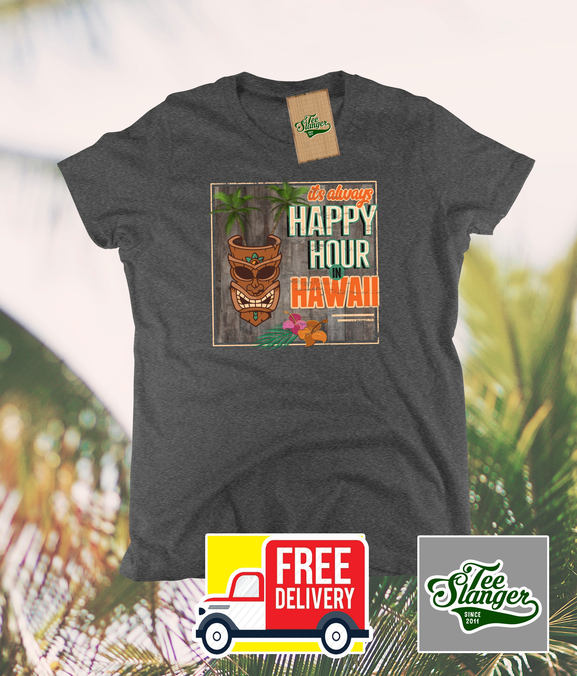 Hawaii Happy Hour Women's t-shirt
