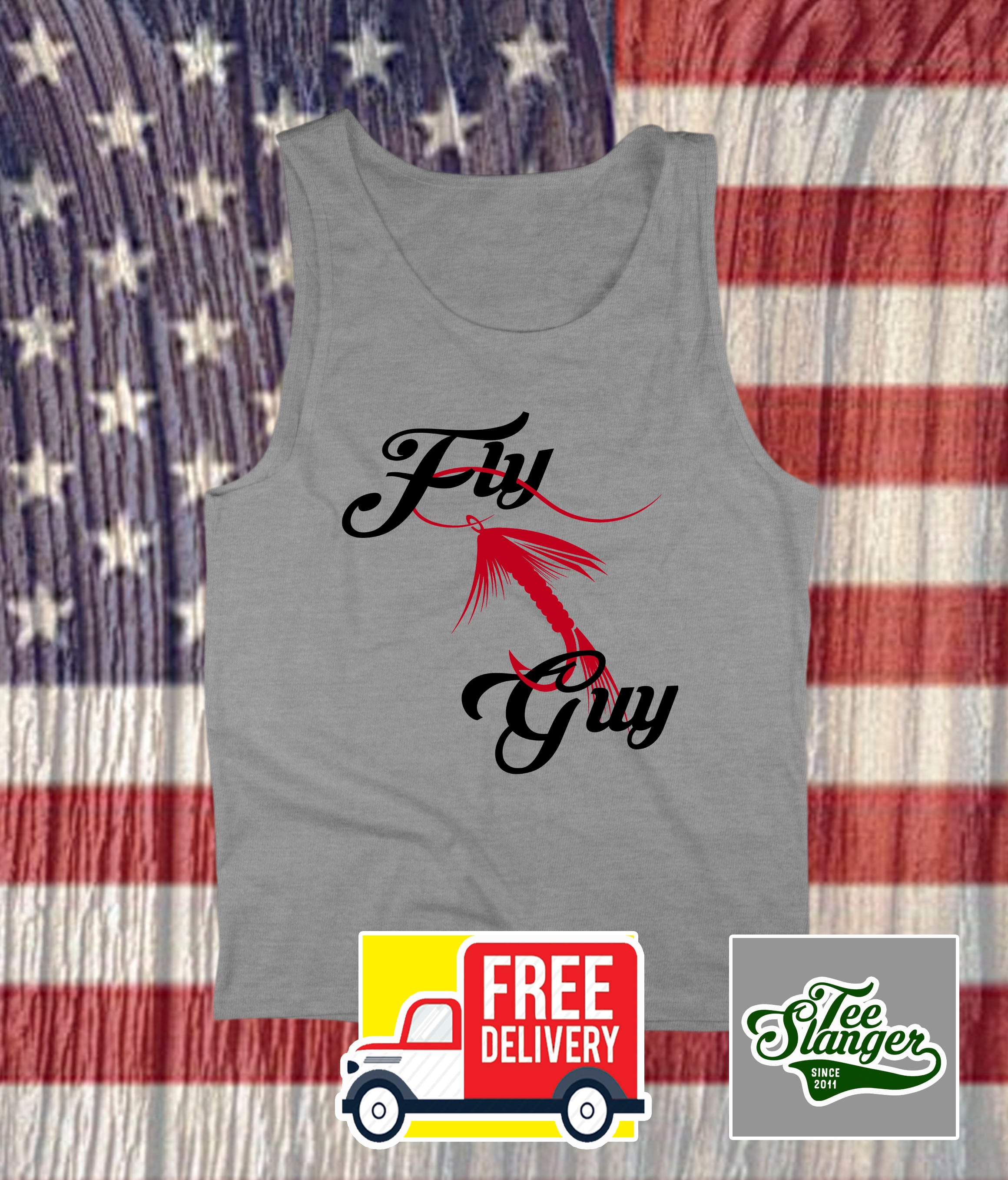 FLY GUY FISHING TANK TOP