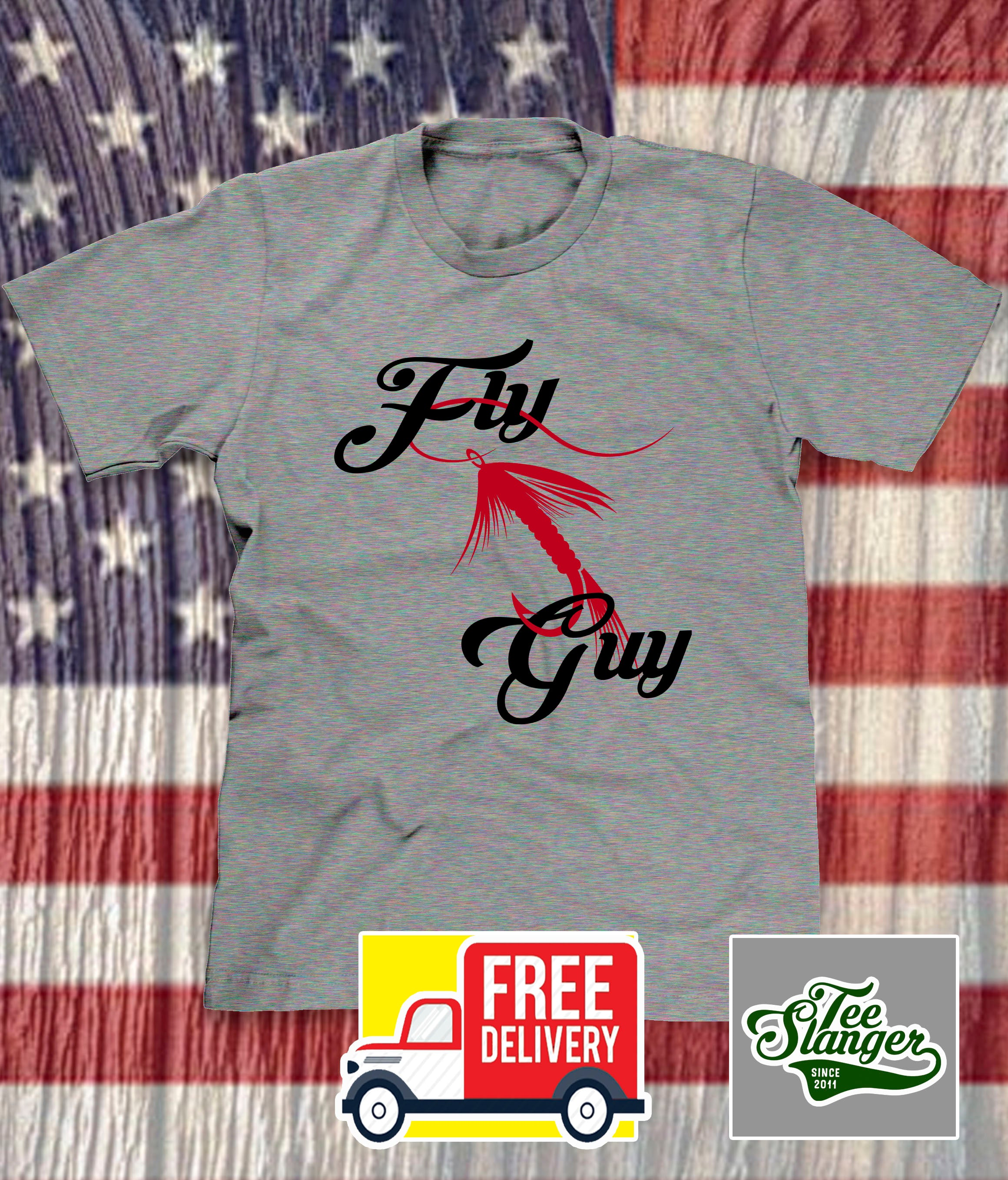FLY GUY FISHING T-SHIRT