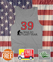 PERSONALIZED BIRTHDAY TANK TOP