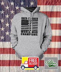 BACK TO BACK WORLD WAR CHAMPIONS HOODIE