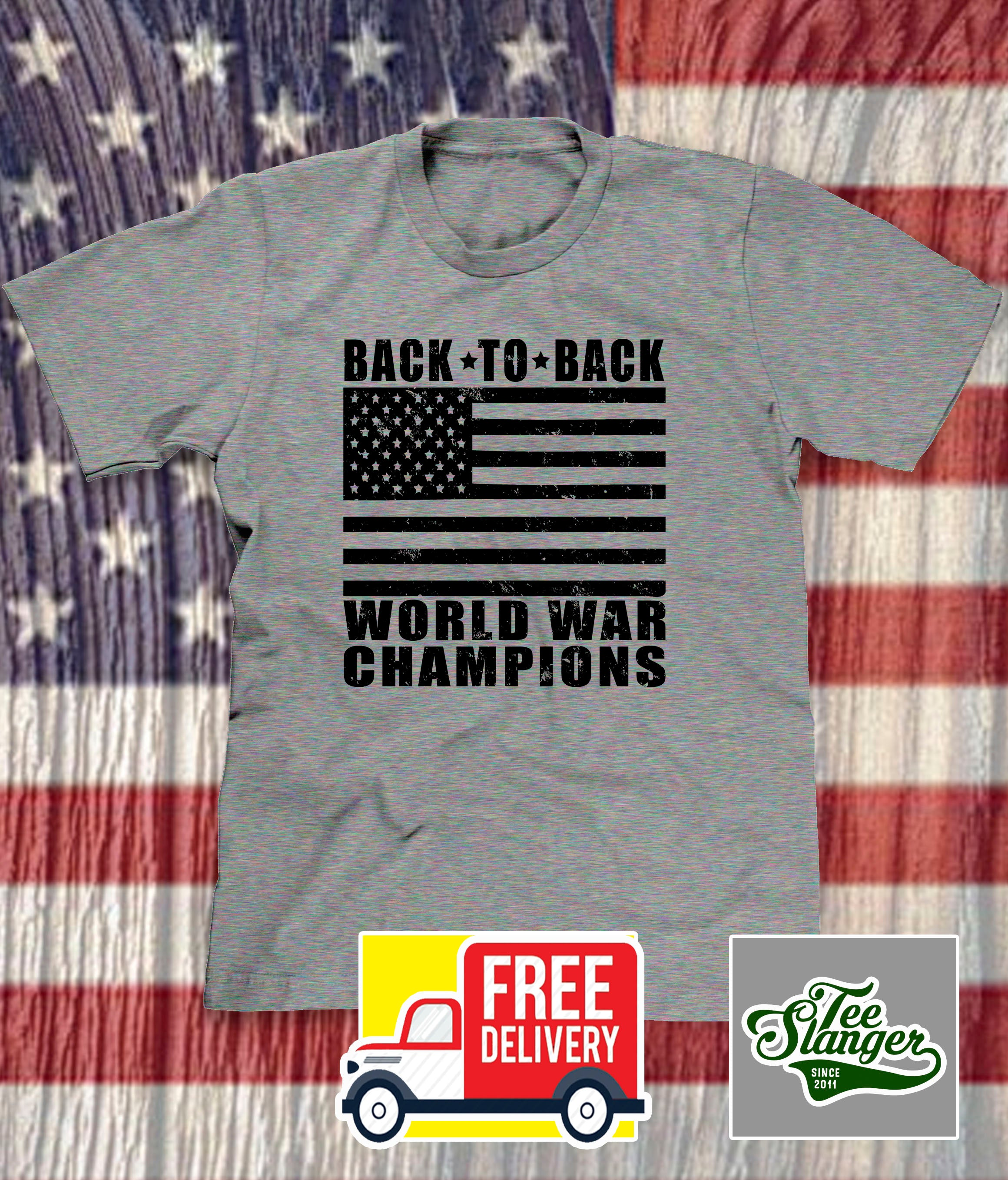 BACK TO BACK WORLD WAR CHAMPIONS T-SHIRT