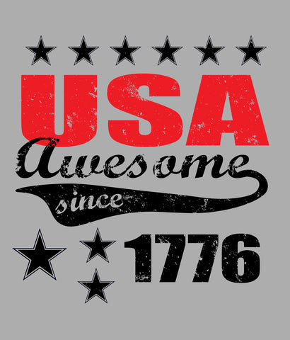 USA T-SHIRT DESIGN CLOSEUP