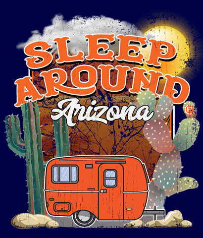Arizona Camping T-shirt