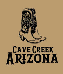 Arizona Cowboy Boot Cutting Board closeup