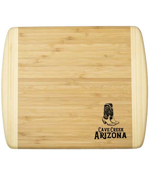 Arizona Cowboy Boot Cutting Board