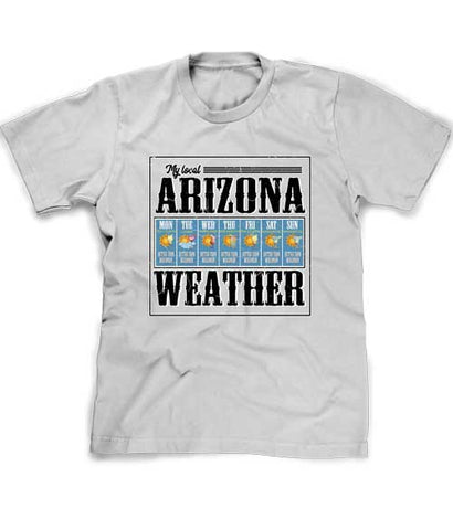 Arizona Weather shirt in silver