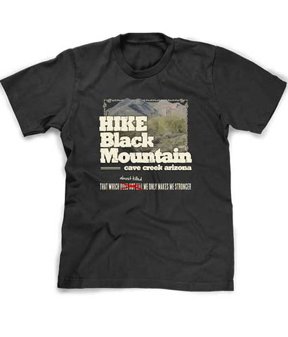 Hike Black Mountain t-shirt Cave Creek Arizona