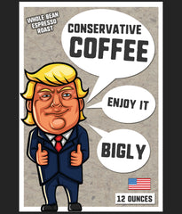 Trump Coffee bag gifts for conservatives
