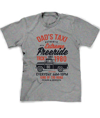 Father's Day tee shirt Dad's Taxi personalized