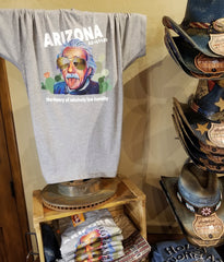 Funny Arizona Einstein t shirt in gift shop