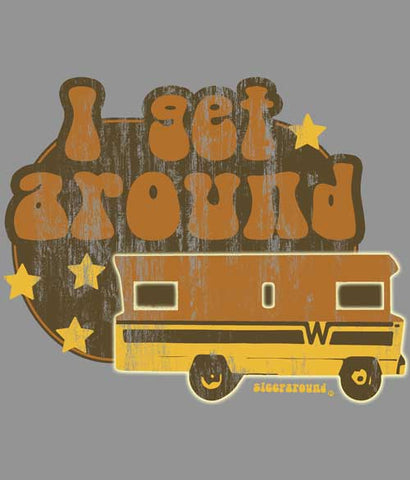 Winnebago Camping tee shirt design