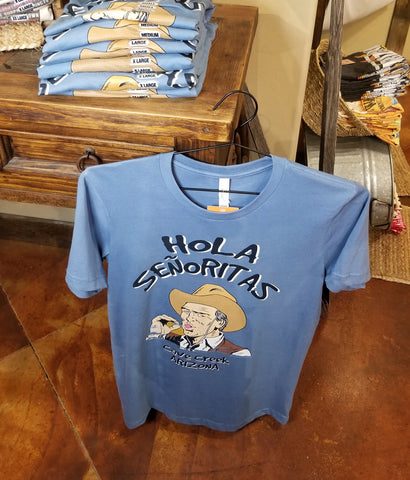 Funny Cowboy t shirt from Teeslanger AZ gift shop