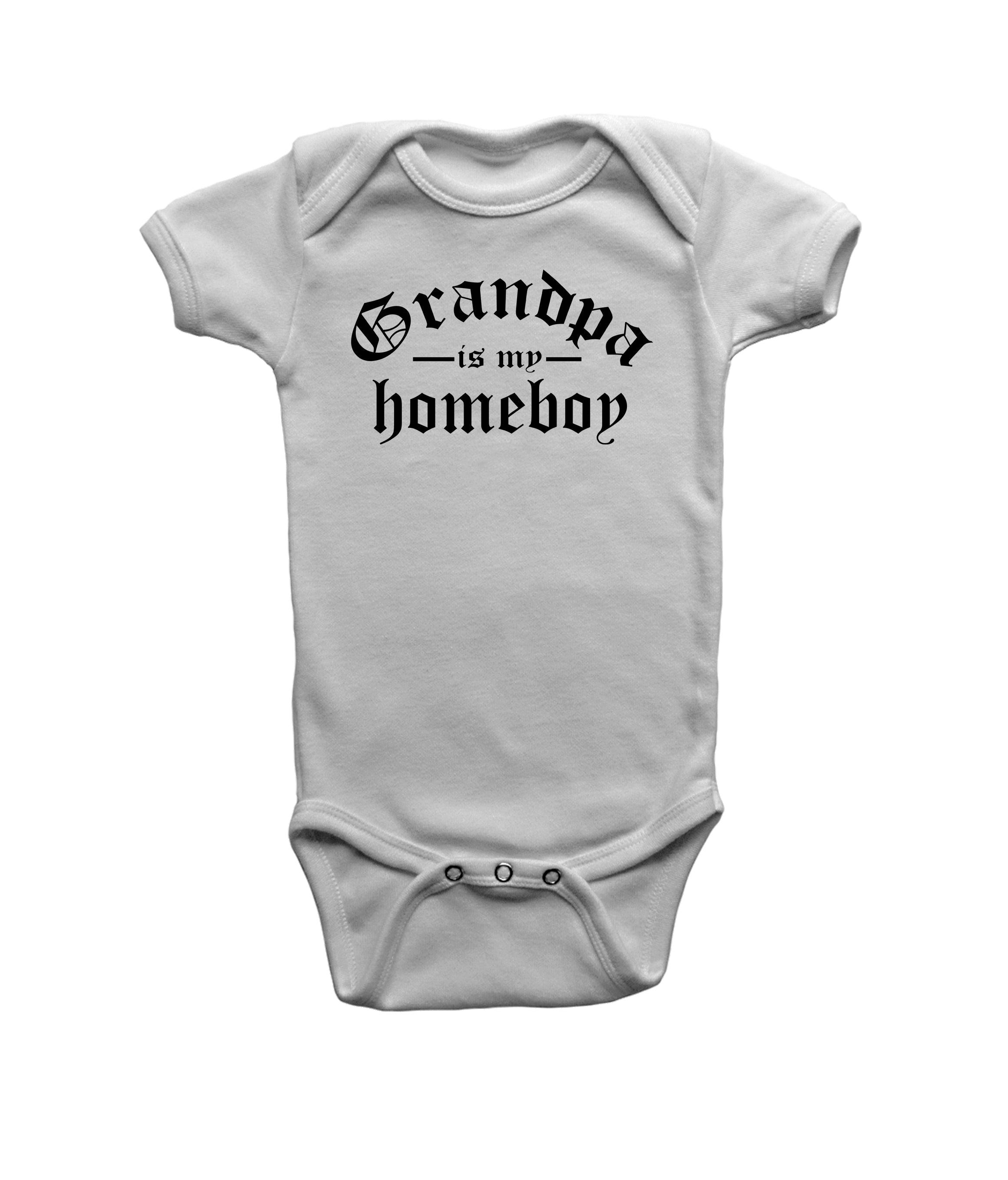 Grandpa is my Homeboy onesie