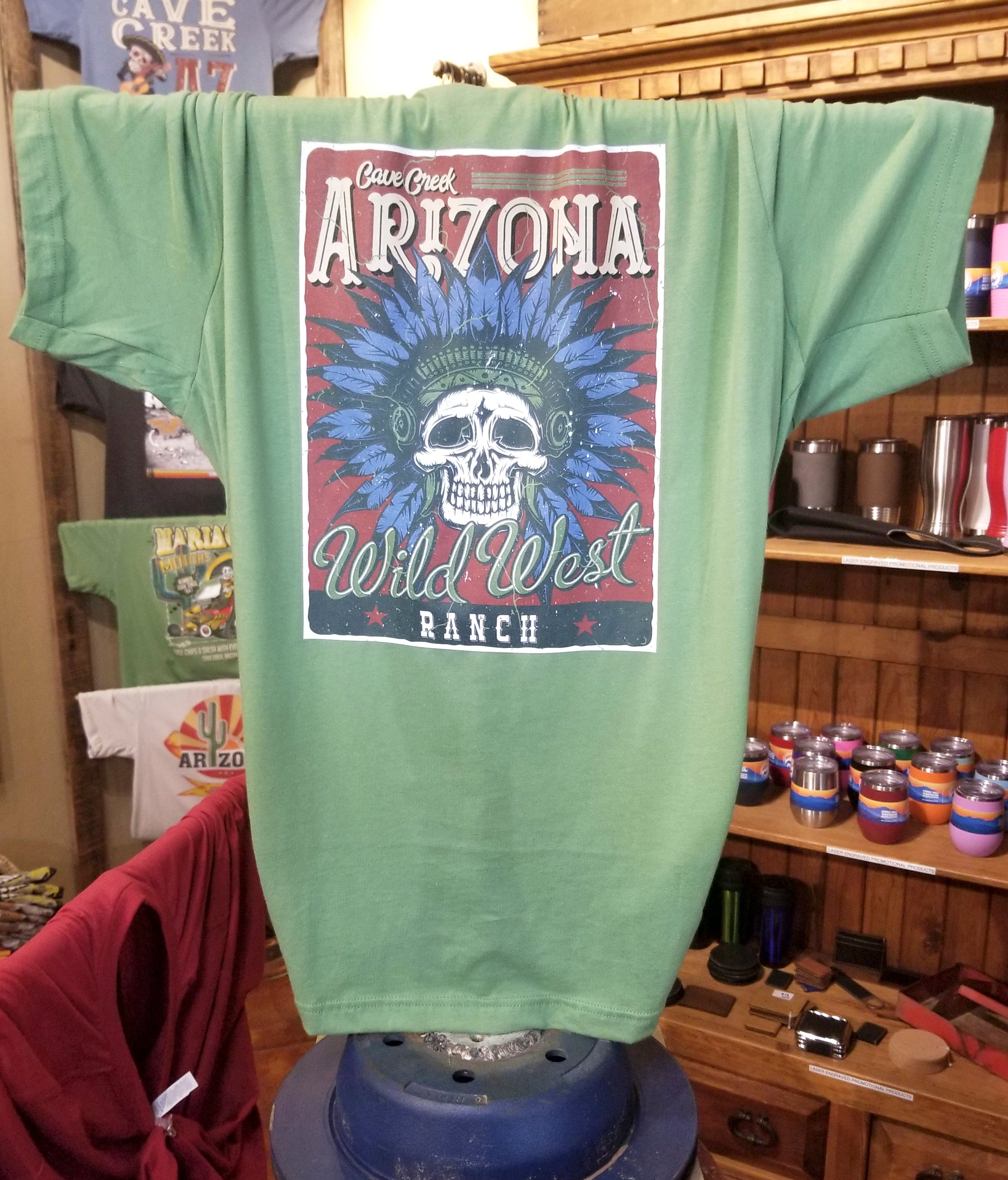 Arizona Indian t shirt from Teeslanger gift shop