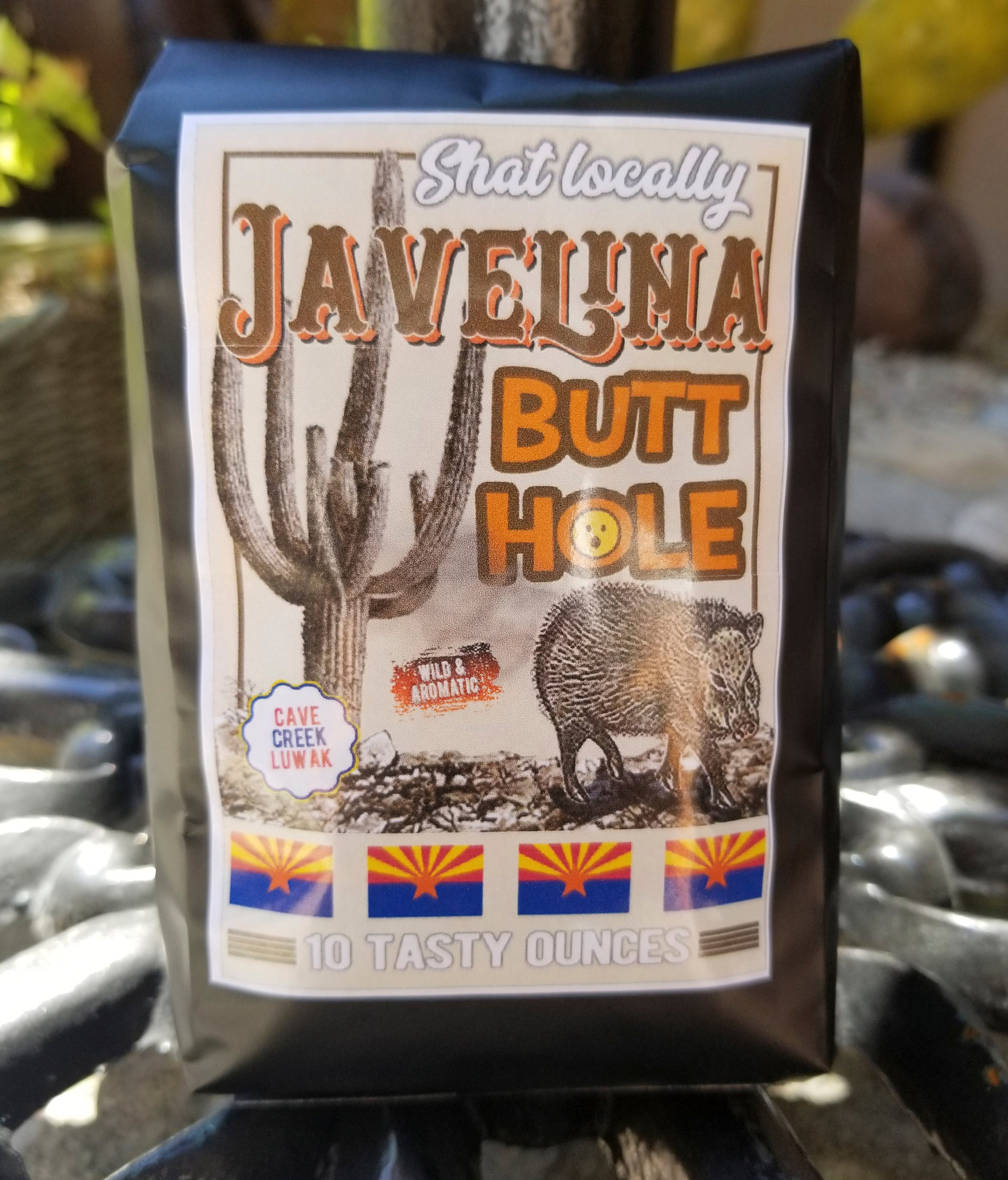 Javelina Butthole Coffee from Teeslanger