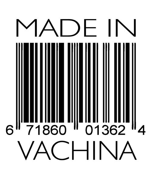 Made in Vachina design closeup