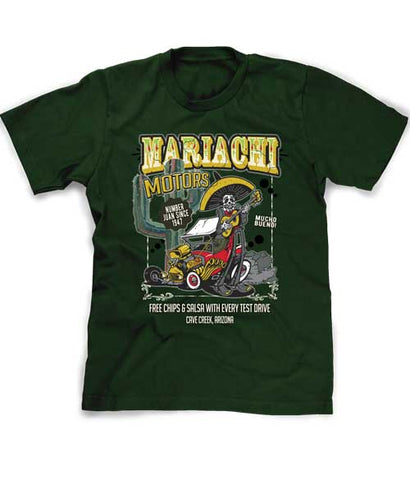 Mariachi Motors Arizona Souvenir tee shirt