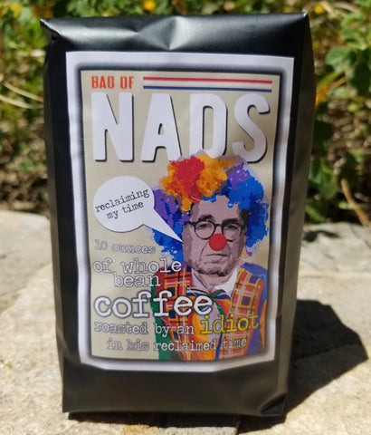 Jerry Nadler sucks gift coffee bag of Nads