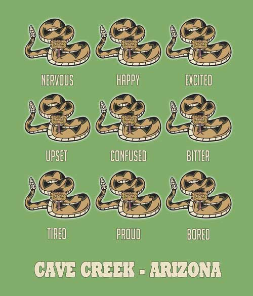 Arizona rattlesnake t-shirt