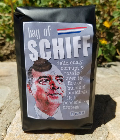 Gift for Trump voters Adam Schiff coffee