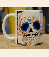 Arizona sugar skull mug