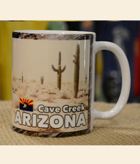 Day of the Dead coffee mug Arizona