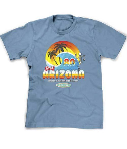 Funny surf Arizona tee shirt