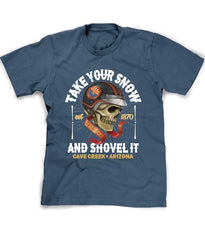 Arizona Winter tee shirt - Take Your Snow and Shovel It