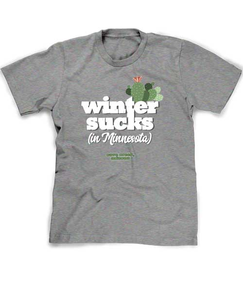 Arizona winter t-shirt funny souvenir