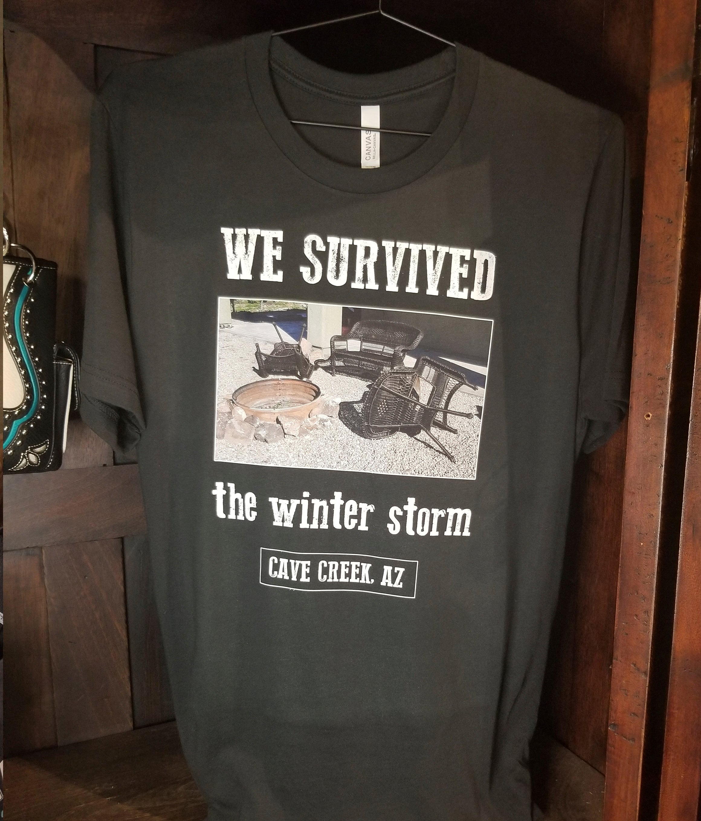 Arizona t shirt funny winter souvenir from Teeslanger gift shop