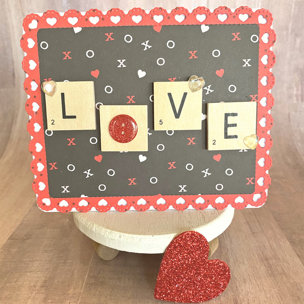 MINI Tutorial: LOVE Card