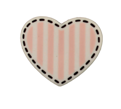 Striped Heart - B1011