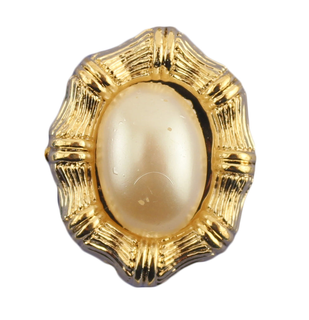 Gold Framed Pearl- B671